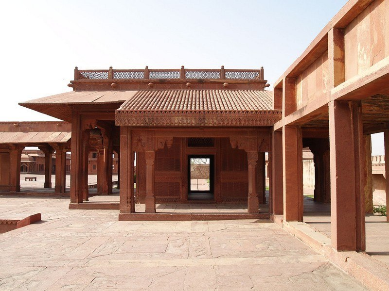 Image result for fatehpur sikri turkish sultans palace