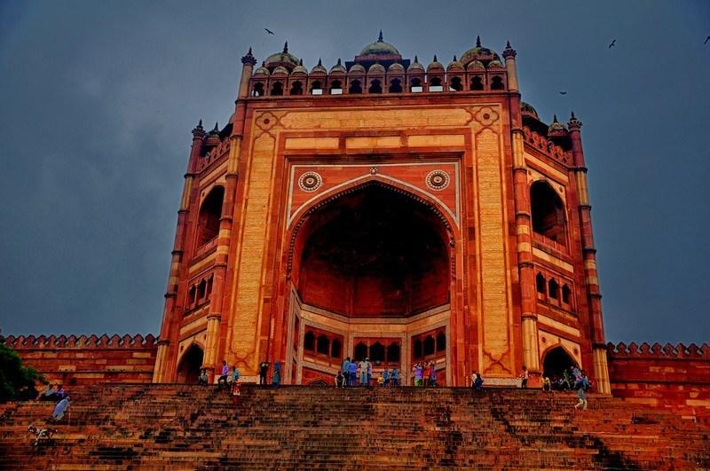 Image result for fatehpur sikri buland darwaza