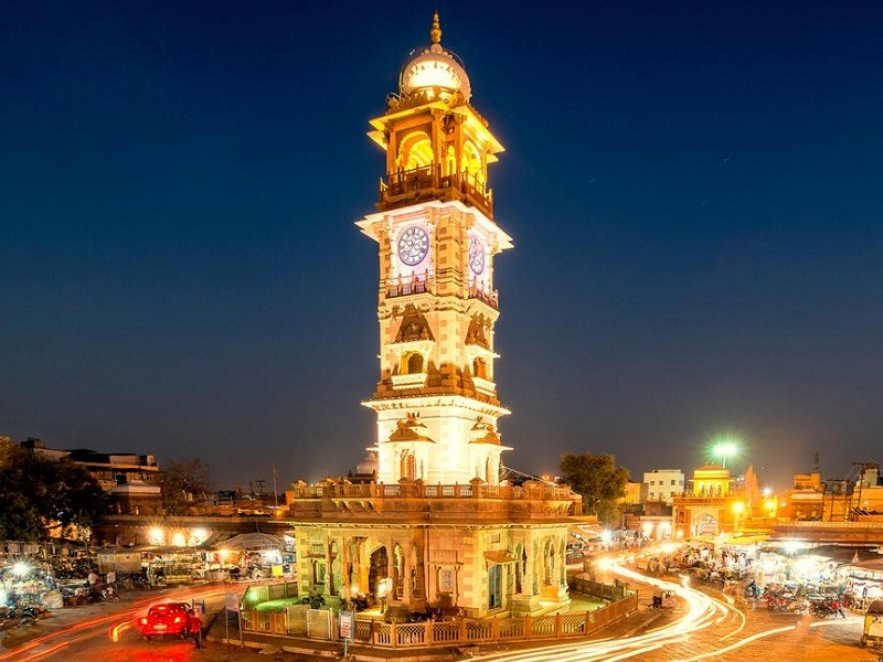 Ghanta Ghar / Clock Tower, Jodhpur - Timings, History, Best time ...