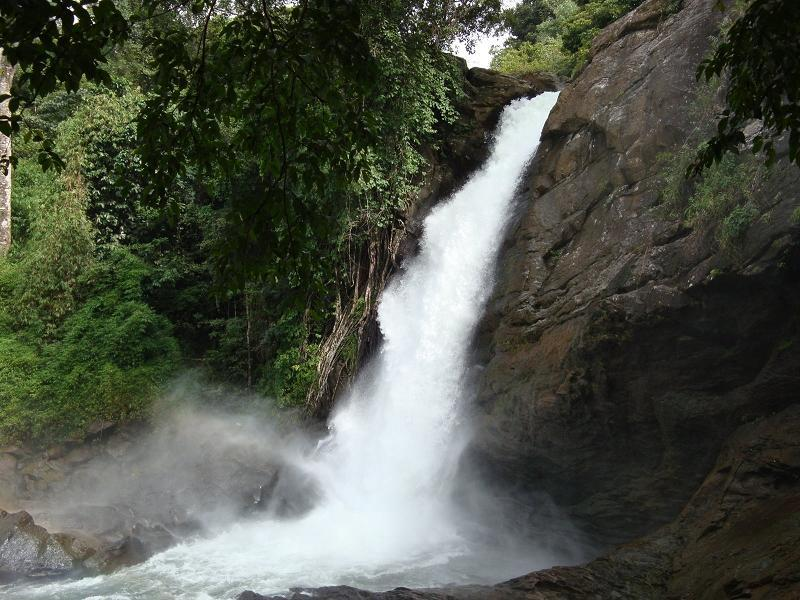 Soochipara Waterfalls / Sentinel Rock Waterfalls