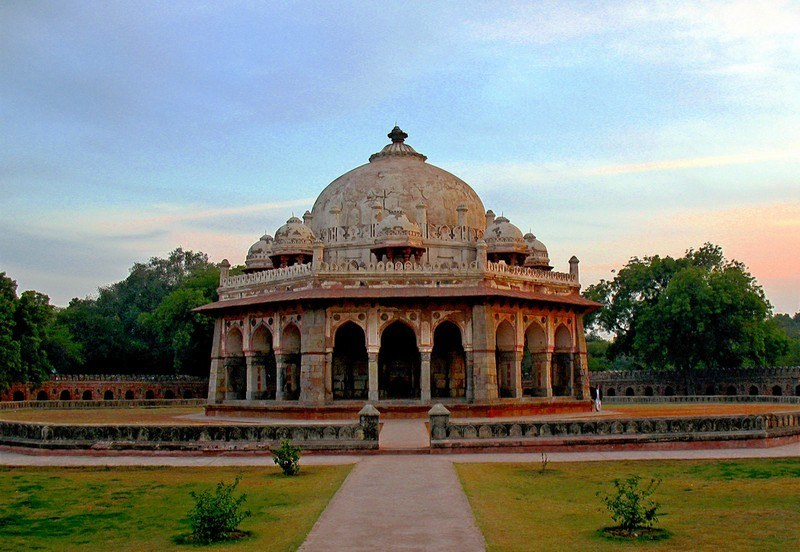 Isa Khan's Tomb And Mosque