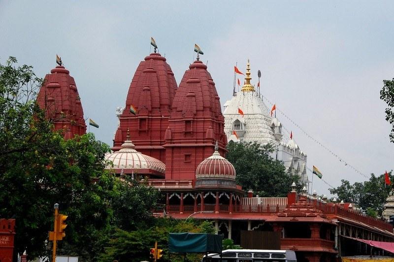 Sri Digambar Jain Lal Temple / Lal Mandir, Delhi City