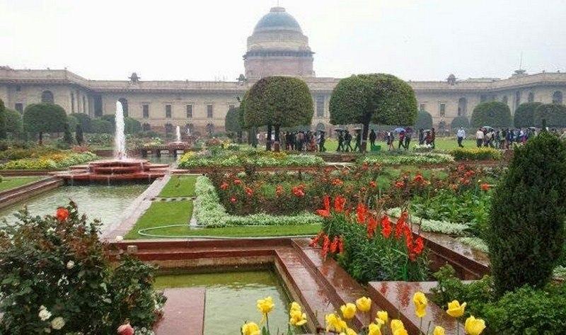 Mughal garden delhi city Mughal garden booking