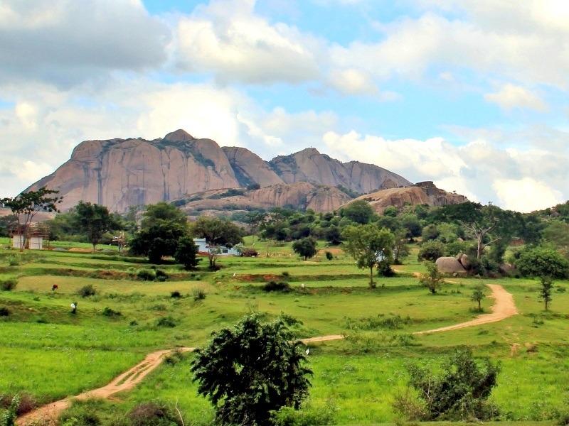 Savandurga Hills, Bangalore