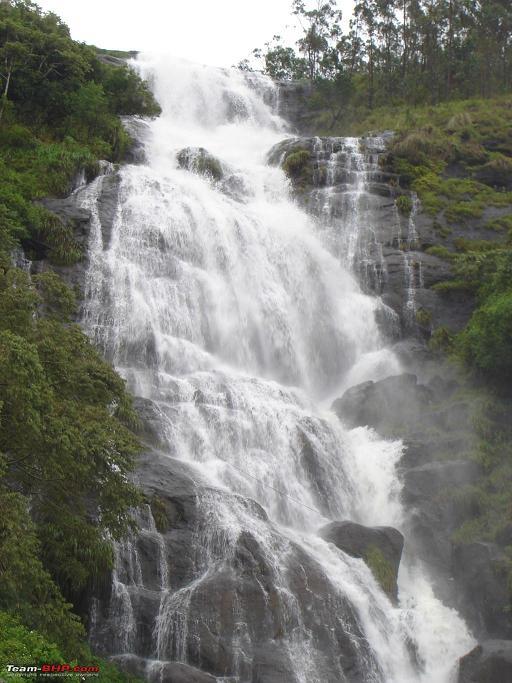 power house chinnakanal waterfalls munnar