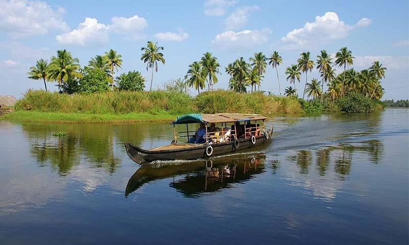 Kerala houseboat cruises amp backwater tours hd wallpapers