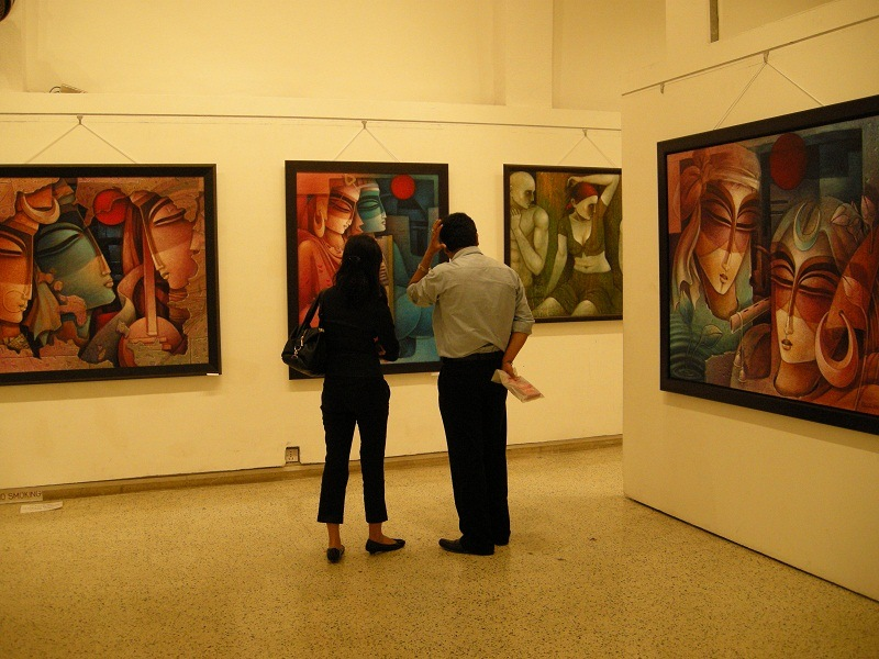 jehangir art gallery  mumbai