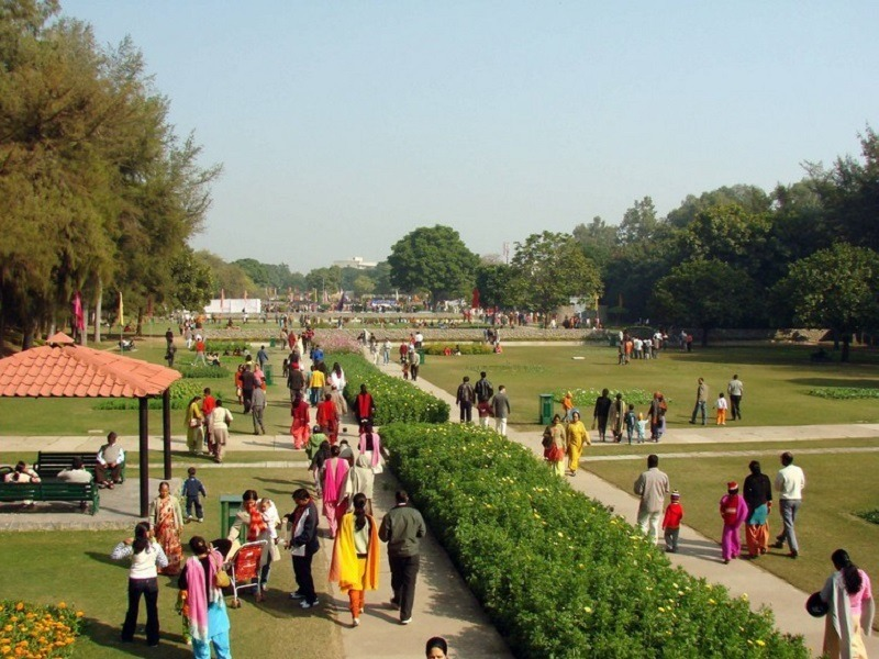 terraced garden chandigarh