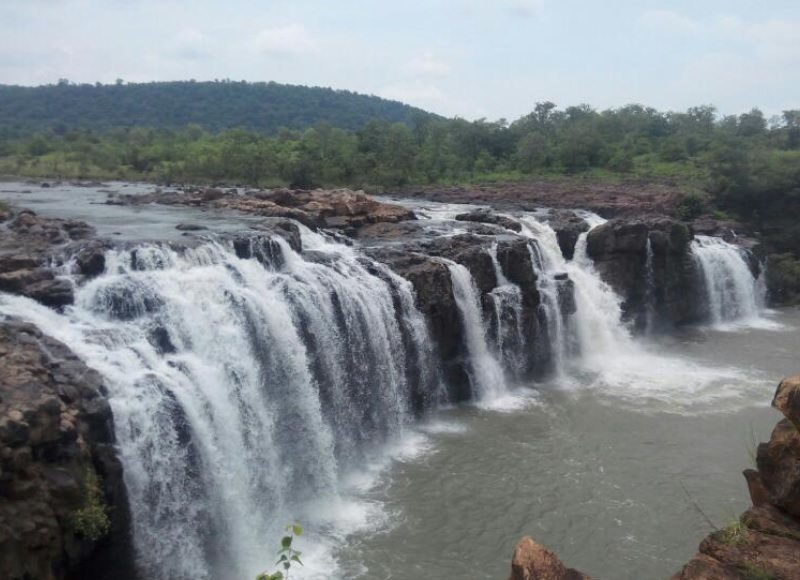 Bheemuni Paadam Waterfalls is one among the best tourist places located at Gudur in Warangal District to visit.