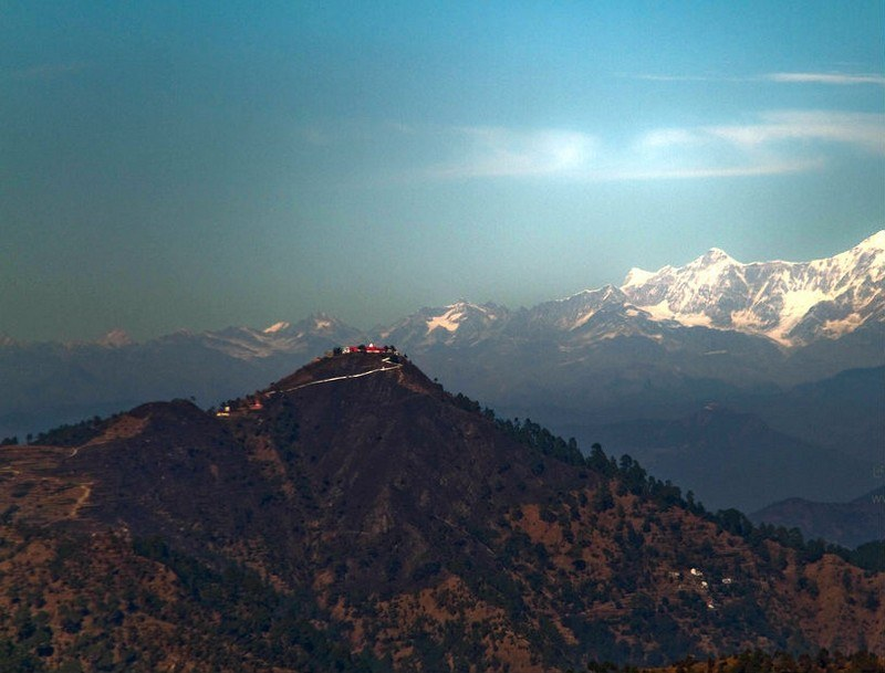 A wonderful view of the tiffin-tof lansdowne Uttrakhand.