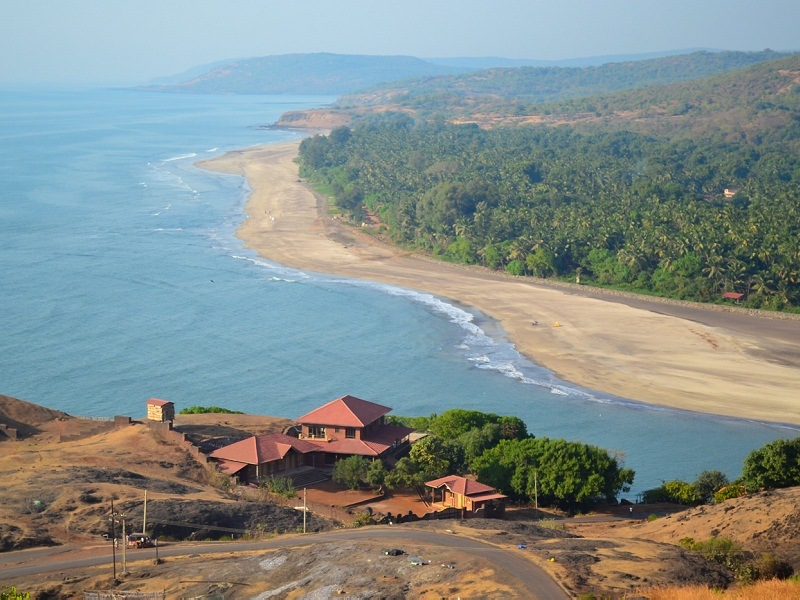 Anjarle Beach & Ganesh Temple