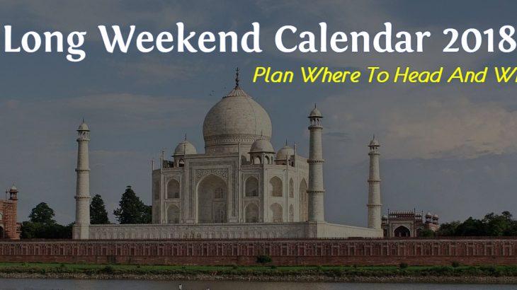Long Weekend Calendar