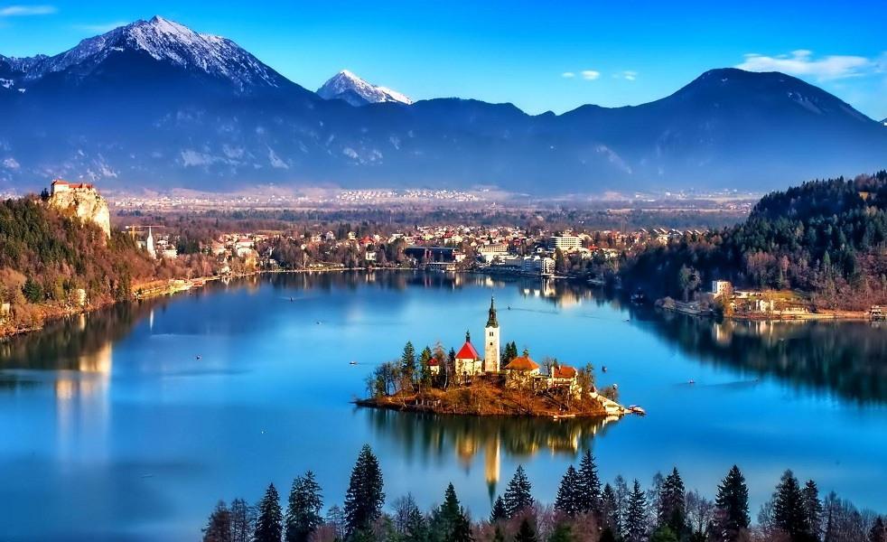 Bled, Slovania