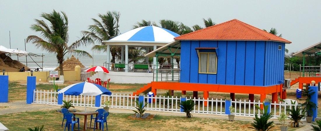 Goa Cottages Near Beach Tivai Beach Cottages Calangute